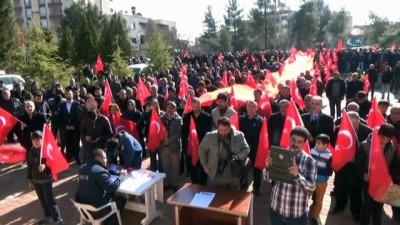 Midyatlı vatandaşlar Afrin harekatındaki Mehmetçik için dua etti