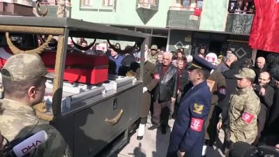 Şehit sözleşmeli uzman erbaş Gürhan'ın naaşı helallik alınması için getirildi - MALATYA