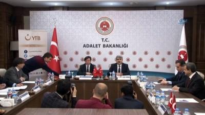 Adalet Bakanlığı ile YTB arasında protokol imzalandı