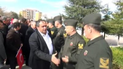 Aksaray'da muhtarlardan jandarmaya destek ziyareti