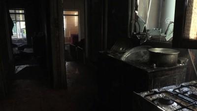 IKBY'de otel yangını - SÜLEYMANİYE