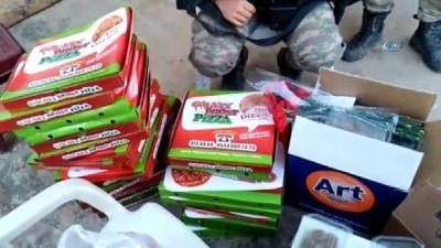 Mehmetçiğe 'atom tatlısı' ve 'bayraklı pizza' dopingi
