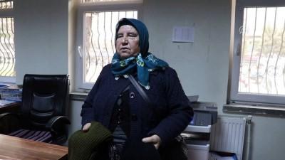 Şehit annesinden Zeytin Dalı Harekatı'na anlamlı destek - BURDUR