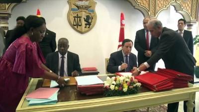 Tunus ve Gine'den 21 anlaşmaya imza - TUNUS