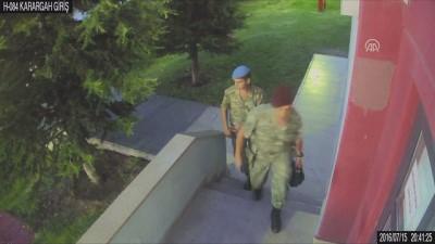 15 Temmuz'da ÖKK'da yaşananların güvenlik kamerası görüntüleri (2) - ANKARA