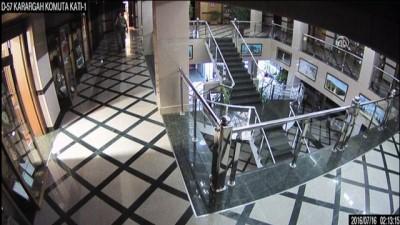 15 Temmuz'da ÖKK'da yaşananların güvenlik kamerası görüntüleri - ANKARA
