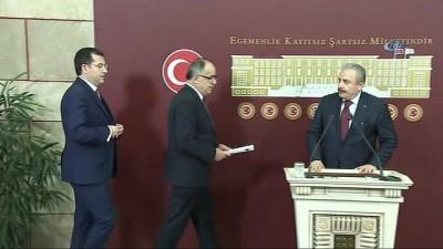 26 maddelik seçim ittifakı teklifi Meclis'e sunuldu
