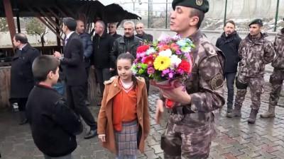 Ağrılılar PÖH timini Afrin'e uğurladı - AĞRI