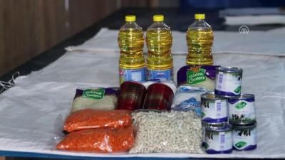 İHH'dan Libya'daki sığınmacı ailelere gıda yardımı - TRABLUS