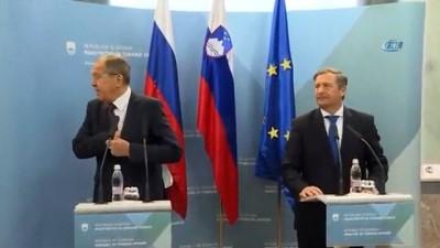 """- Lavrov: """"Rusya, Suriye'de Dökülen Kanı Durdurmak İçin Çalışıyor"""""""