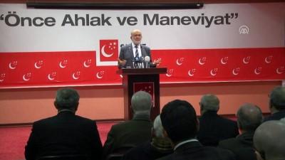 Saadet Partisi Genel Başkanı Karamollaoğlu - ANKARA