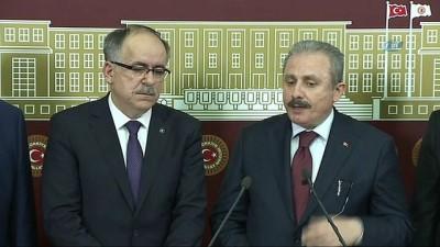 TBMM Anayasa Komisyonu Başkanı Mustafa Şentop: 'Yaptığımız düzenlemede parti sınırlaması yok'