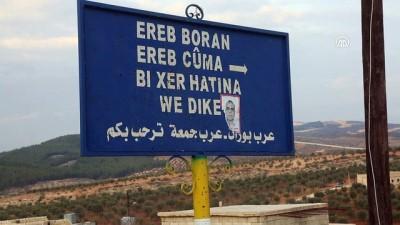 (TEKRAR) - TSK ve ÖSO, Afrin'de teröristlerin Kilis'le sınır temasını kesti (2) - AFRİN