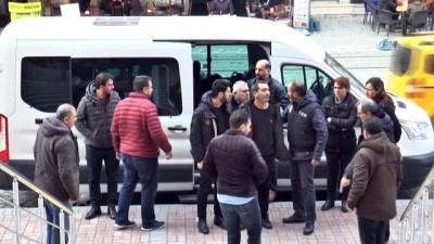Terör propagandası yapan 7 HDP'li yönetici adliyeye sevk edildi İzle