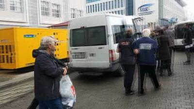 Zeytin Dalı Harekatı aleyhinde paylaşım yapan ve gözaltına alınan 6 kişi adliyeye sevk edildi