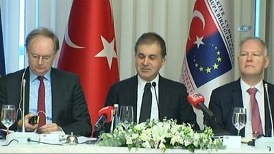 AB Bakanı Çelik, AB Büyükelçileri ile bir araya geldi