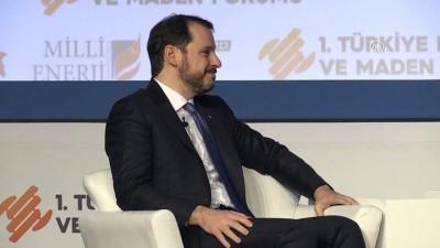 Bakan Albayrak, 1. Türkiye Enerji ve Maden Forumu'na katılarak soruları cevapladı - (2) - İSTANBUL