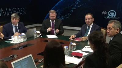 Bozdağ: 'Zeytin Dalı Harekatı'nın durdurulmasına ilişkin bir şart koşulması söz konusu değil' - ANKARA