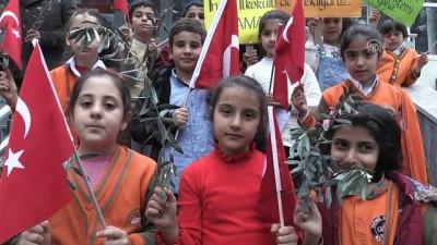 İlkokul öğrencilerinden Zeytin Dalı Harekatı'na destek - ADIYAMAN