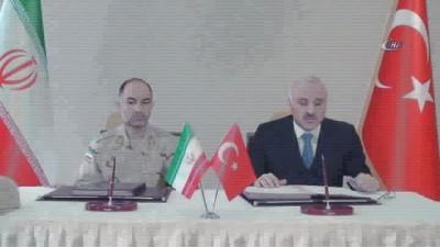 İran ile hudut güvenliği mutabakatı imzalandı İzle