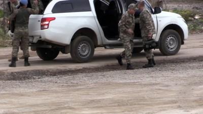Kara Kuvvetleri Kurmay Başkanı Gürak, sınır birliklerinde incelemede bulundu - HATAY