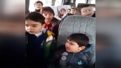 Miniklerden duygulandıran 'Komando Marşı'