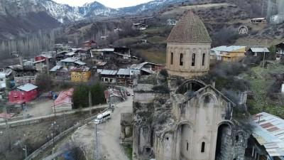 Tarihi kilise 'röntgeni çekilerek' restore edilecek - ERZURUM
