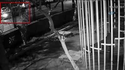 Akü ve su sayacı hırsızları güvenlik kameralarına yakalandı