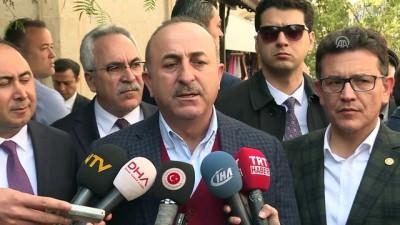"""Dışişleri Bakanı Çavuşoğlu: """"(Suriye) Siyasi sürecin sekteye uğramaması için sahada ateşkesin olması lazım' - ANTALYA"""