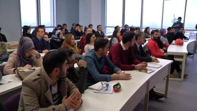 Esenyurt Beledİye Başkanı, üniversite öğrencileri ile derse katıldı