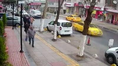 Jammer'lı hırsız kamerada