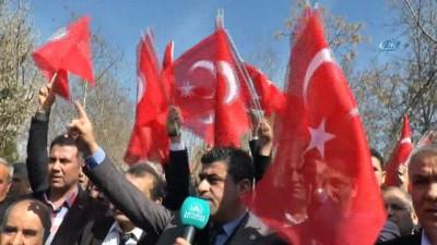 'Mehmetçiğe Bir Ses, Bir Nefeste Sen Ol' Mitingi düzenlendi