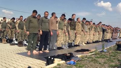 Müşterek Görev Merkezi açılışı - Komandolar cuma namazı kıldı - GAZİANTEP