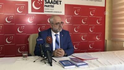 Saadet Partisi Diyarbakır İl Başkanı Bozan'ın basın toplantısı - DİYARBAKIR
