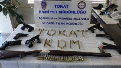 Tokat'ta kaçakçılık operasyonunda 'hayalet silah' ele geçirildi