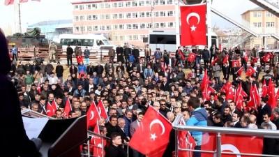 Başkale'de Zeytin Dalı Harekatı şehitleri için mevlit - VAN
