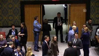 BMGK'de Suriye'de 'insani ateşkes' tasarısının oylaması ertelendi - NEW YORK