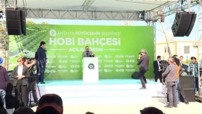 Dışişleri Bakanı Çavuşoğlu: ''Çocuklarımızı topraktan koparmamak lazım'' - ANTALYA
