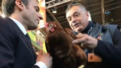 - Macron'un tarım fuarında ilginç anları
