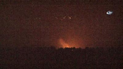 roketatarlar -  TSK'dan Raco Dağına yoğun bombardıman
