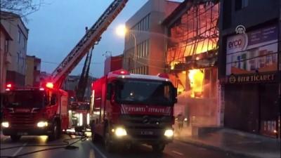 Ümraniye'de yangın - İSTANBUL