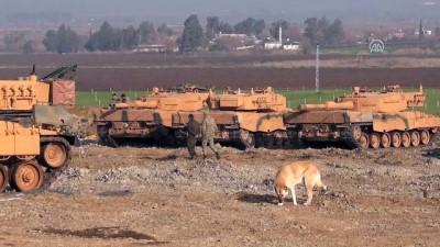 roketatarlar - Zeytin Dalı Harekatı - Terör mevzileri, ateş altına alındı - HATAY