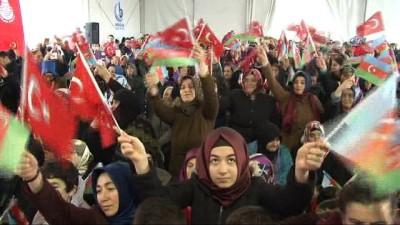 Azerbaycan Dosluk Parkı ve Hocalı Katliamı Anıtı'nın açılışı gerçekleştirildi