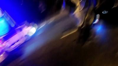 Beykoz'da otomobil takla attı: 2 yaralı
