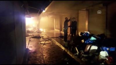 Kadirli'de 20'ye yakın iş yeri yandı - OSMANİYE