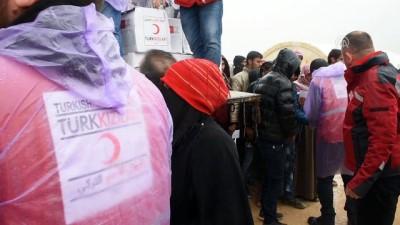 Kızılay Azez'deki ailelere desteğini sürdürüyor - AZEZ