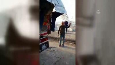 Koyun taşınan kamyonda 151 kaçak göçmen - ERZURUM
