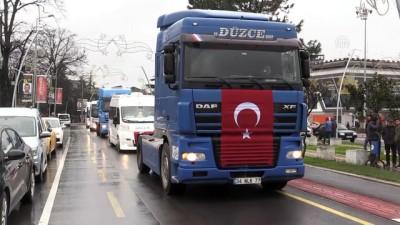 Zeytin Dalı Harekatı'na destek konvoyu - DÜZCE