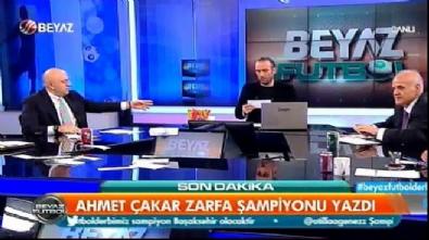 beyaz futbol - Ahmet Çakar şampiyonu yazdı