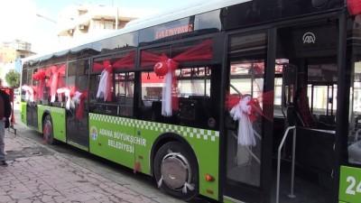 Belediye otobüsü gelin arabası oldu - ADANA